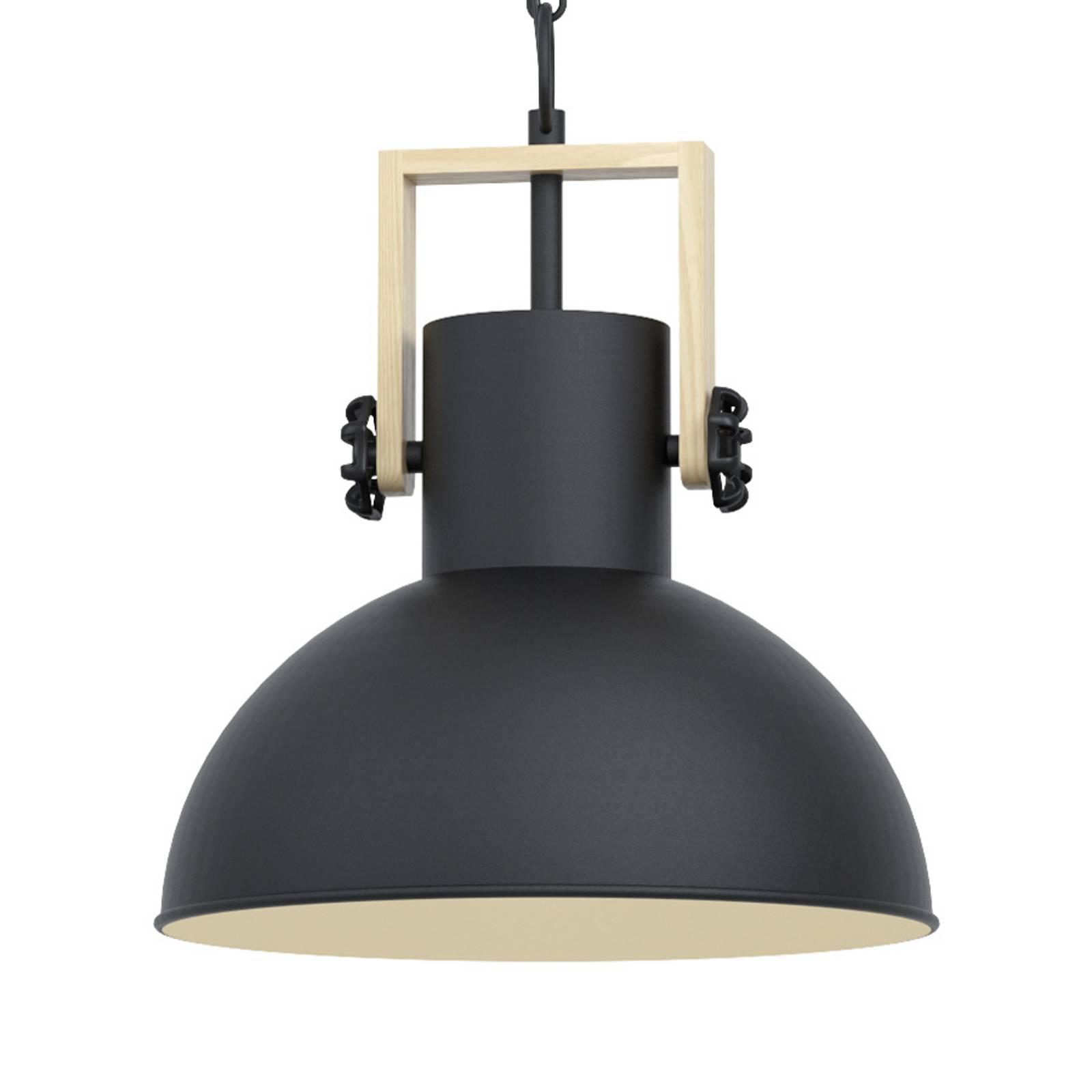 Hanglamp Lubenham met metalen kap