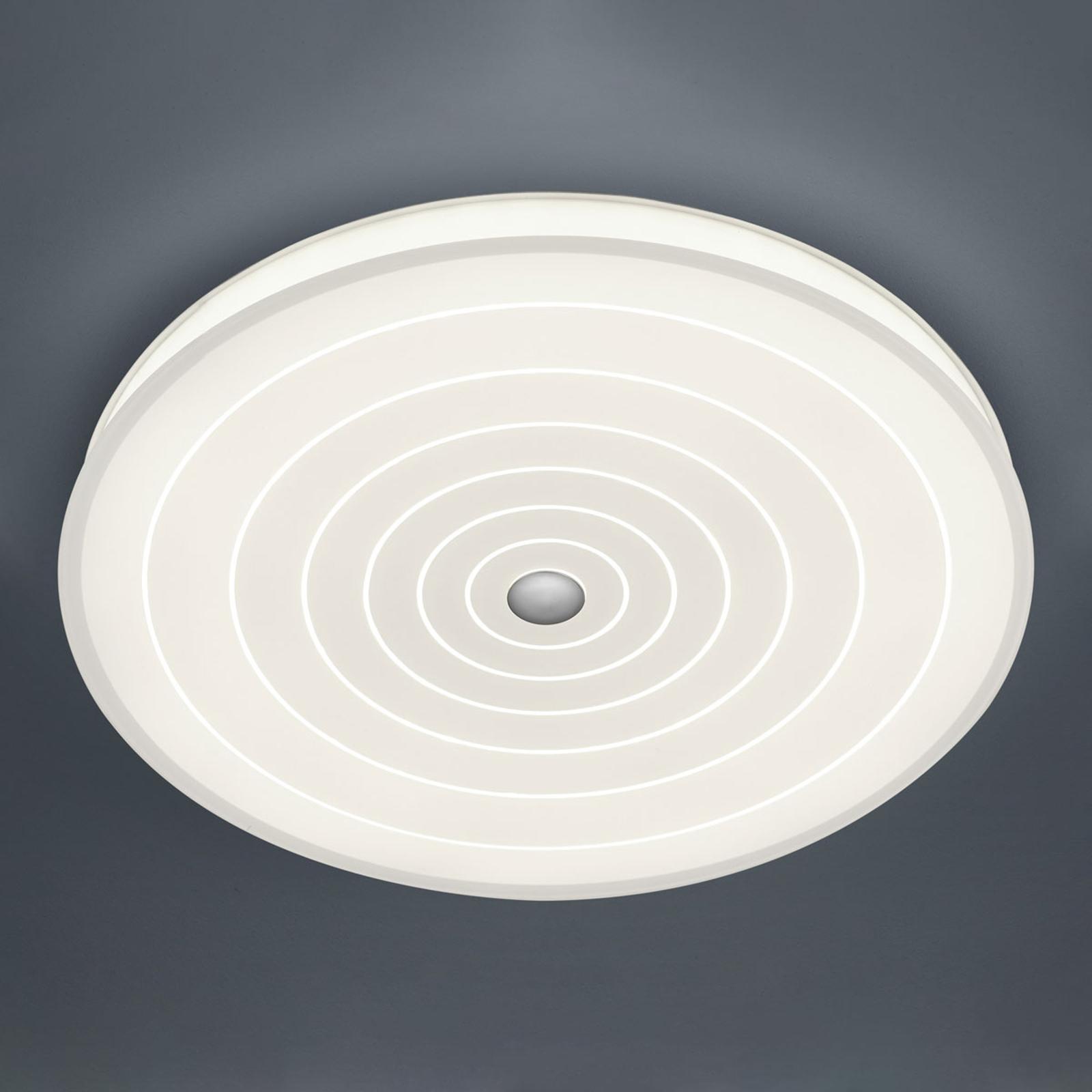 BANKAMP Mandala lampa sufitowa LED okręgi, Ø 52 cm