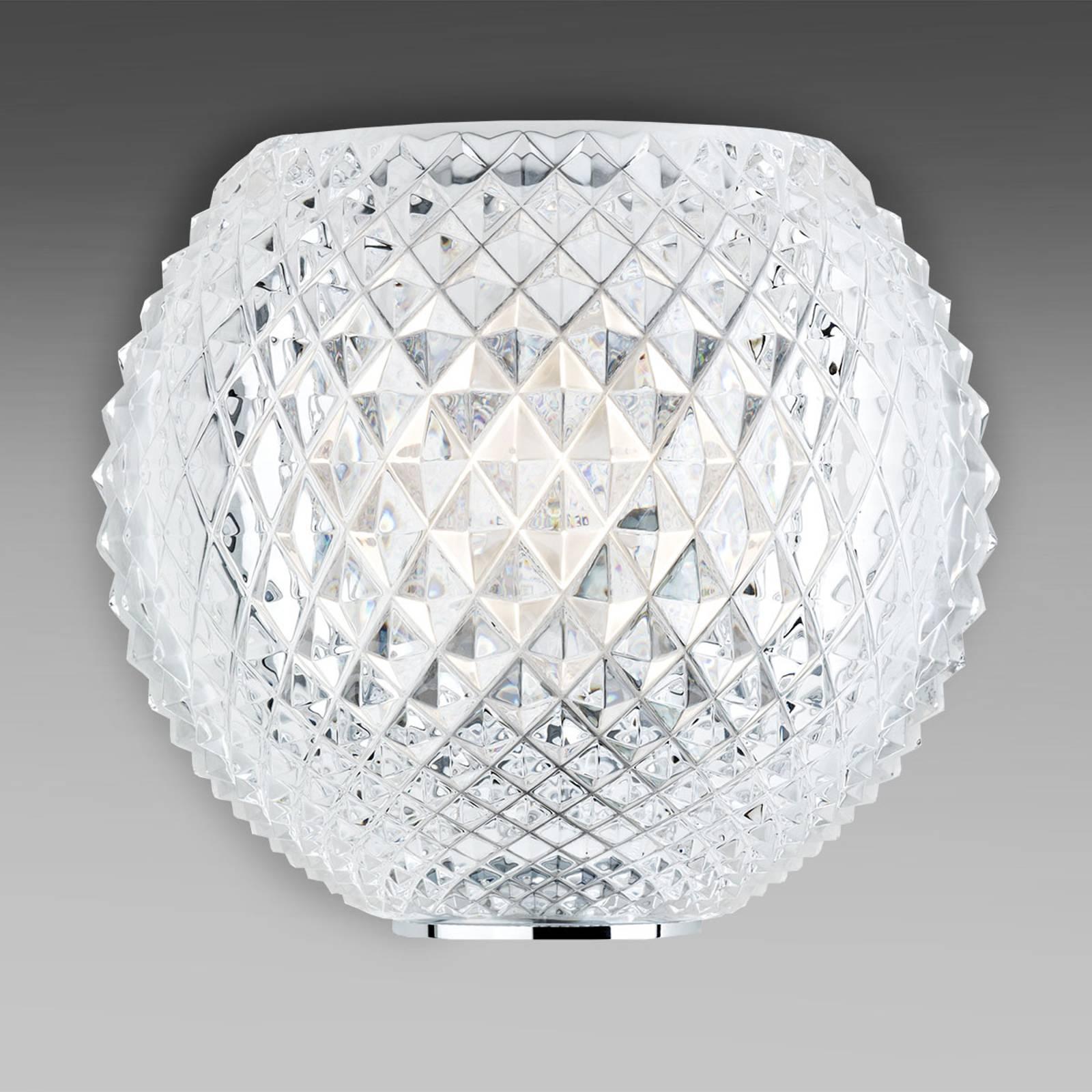 Fabbian Diamond and Swirl - Kristall-Wandleuchte