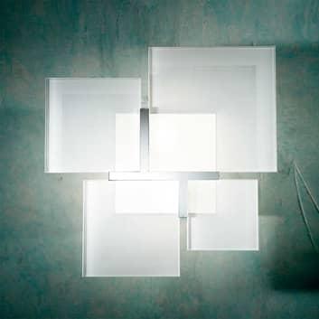 Taklampa QUADRIFOGLIO 8050, 36 cm