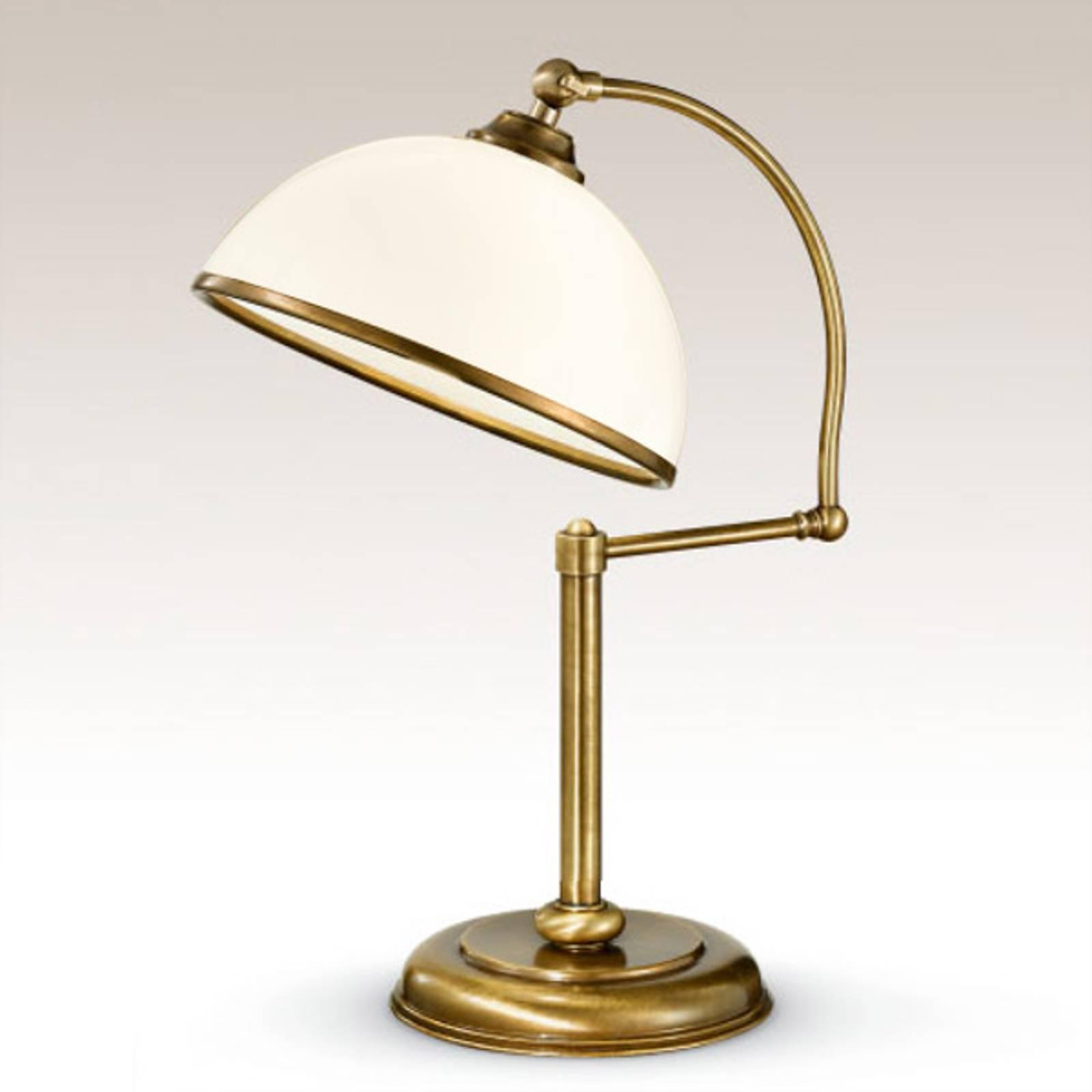 Verstelbare tafellamp La Botte wit