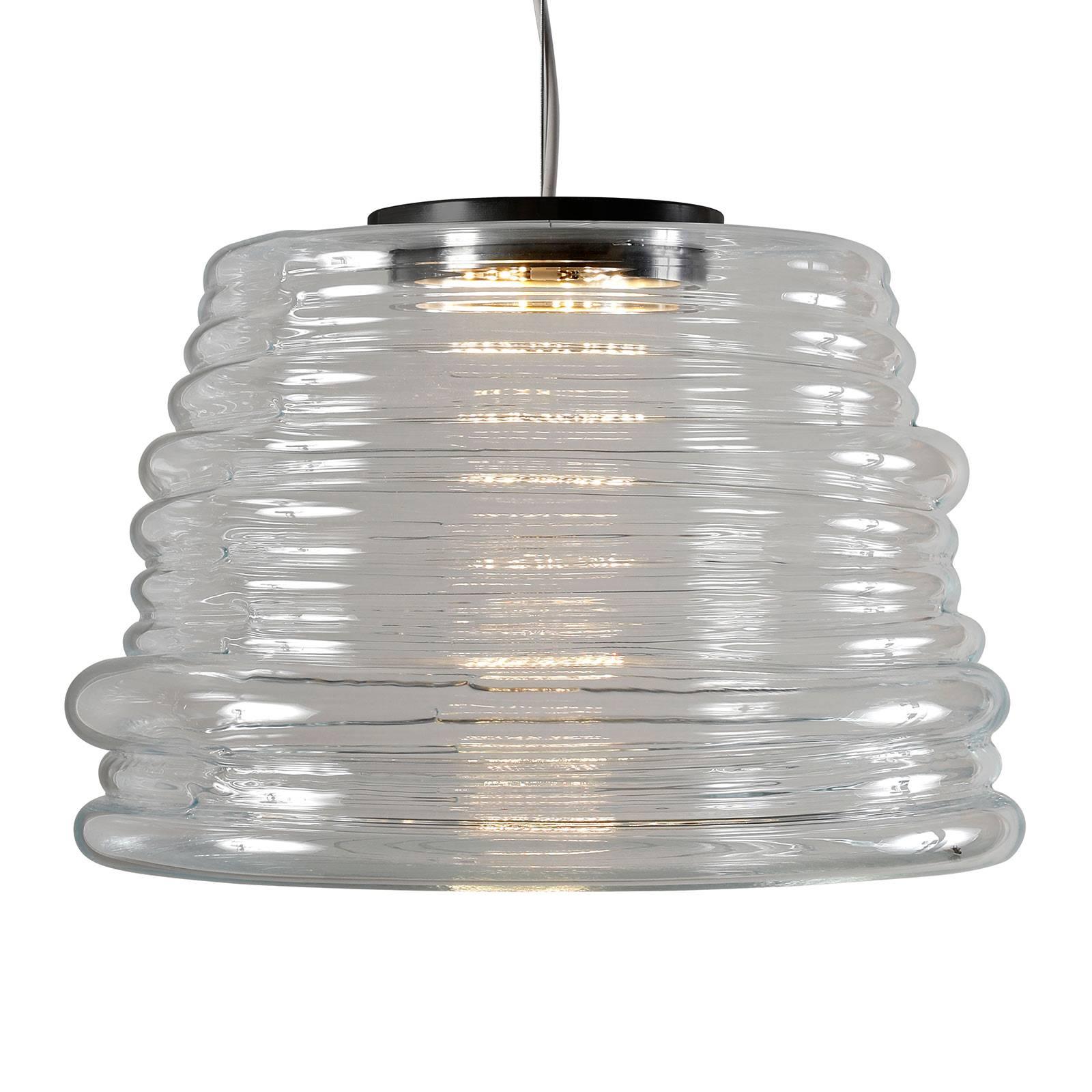 Karman Bibendum suspension LED Ø 35cm transparente