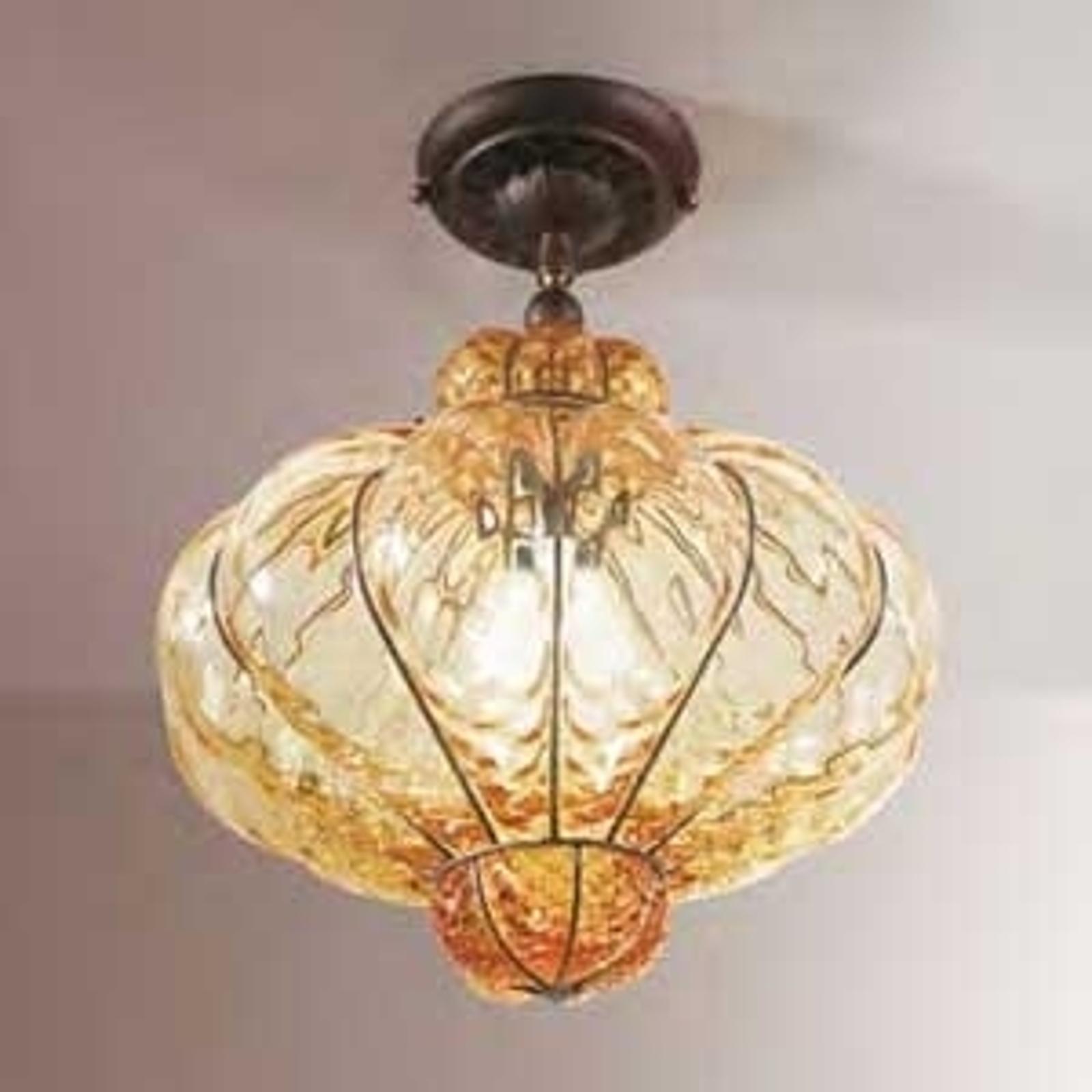 Lampa sufitowa SULTANO ze szkła Murano 42 cm