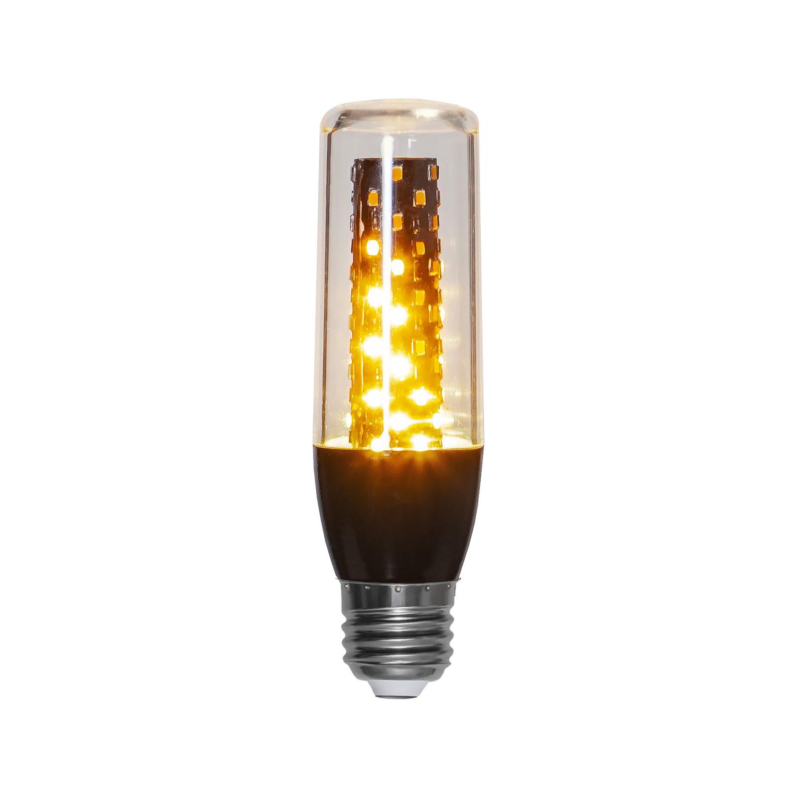 LED-pære Flame E27 3,3 W med retningssensor