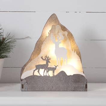 LED-dekorasjonsbelysning Fauna, høyde 21 cm
