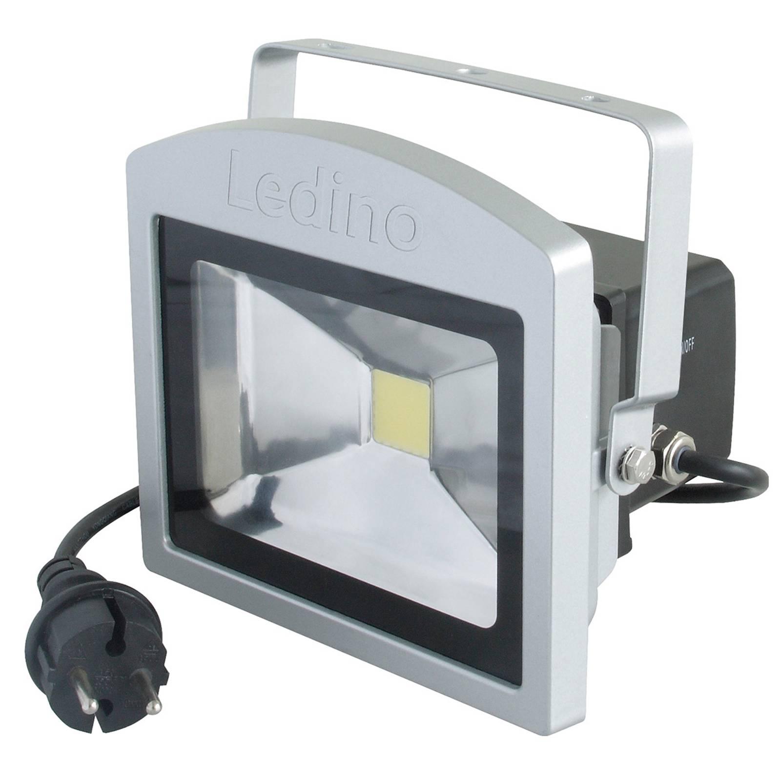 LED spot Benrath, antipanieklamp met accu