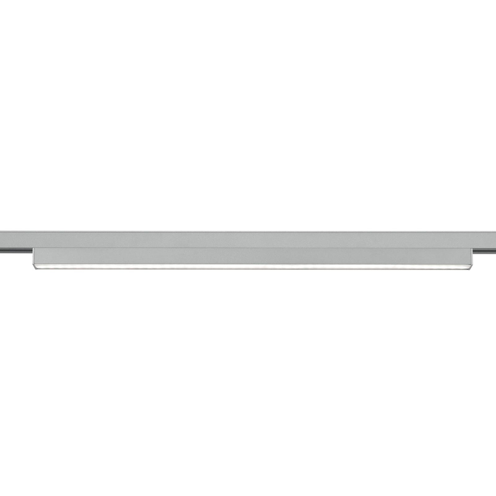 LED-Lichtleiste für DUOline Schienensystem titan