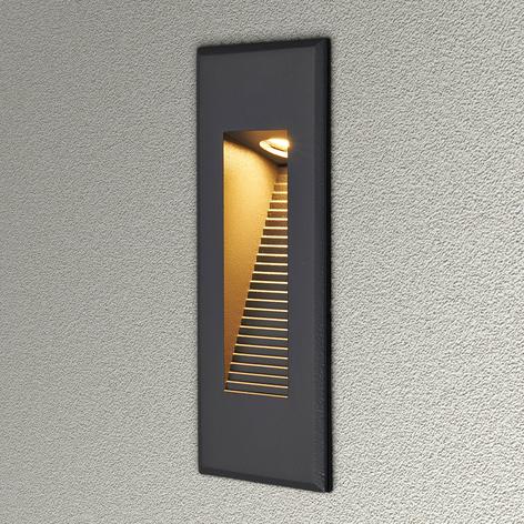 Indirekte lysende LED vægindbygningslampe NUNO