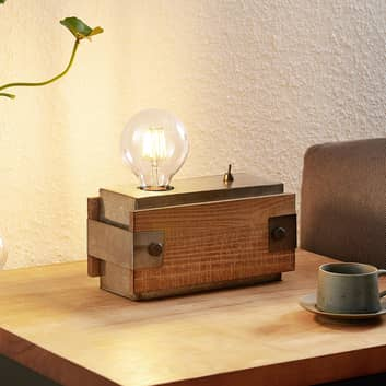 Lindby Nilaska bordslampa 1 lampa med strömbrytare