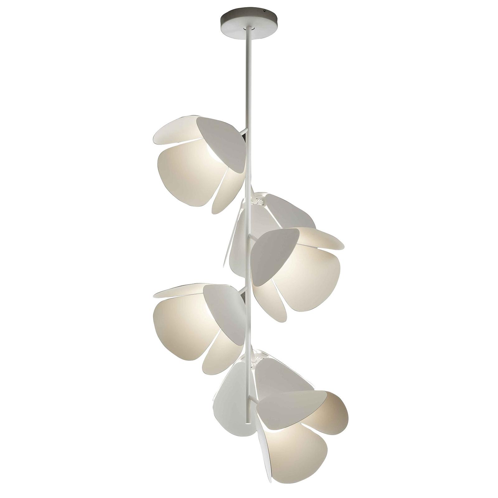 Bover Mod PF/73/6L LED plafondlamp, wit