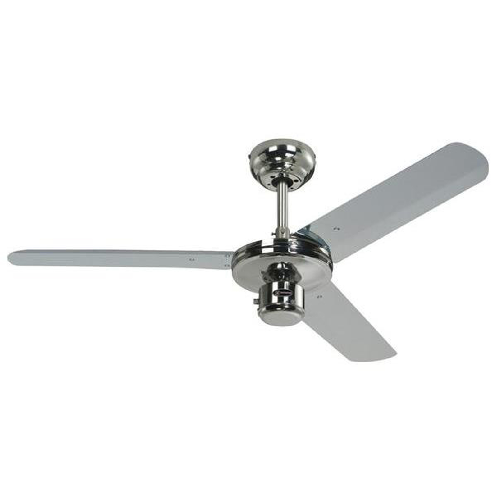 Ventilateur de plafond Industrial chrome