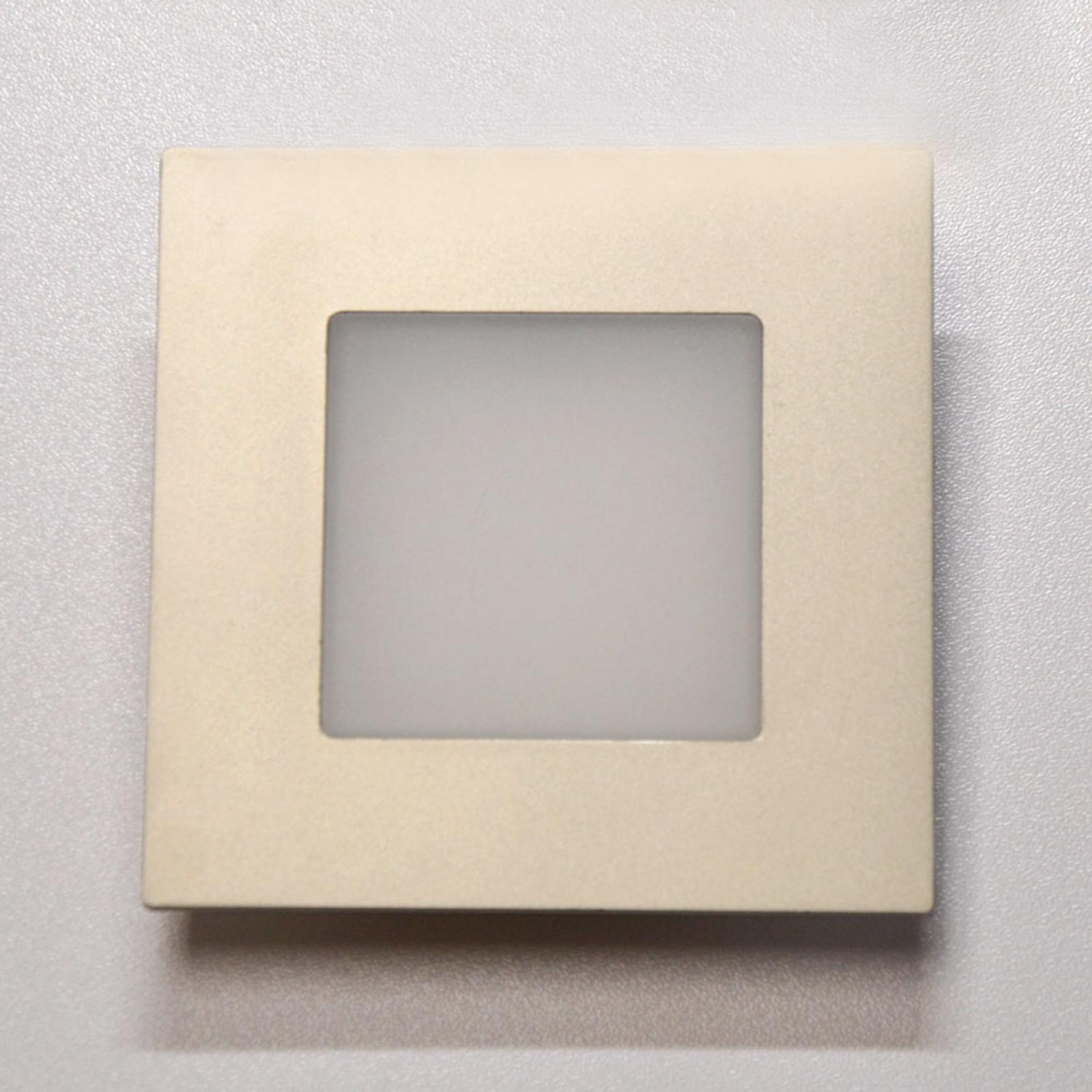 Dynamic FR 68 firkantet LED-indbygningslampe