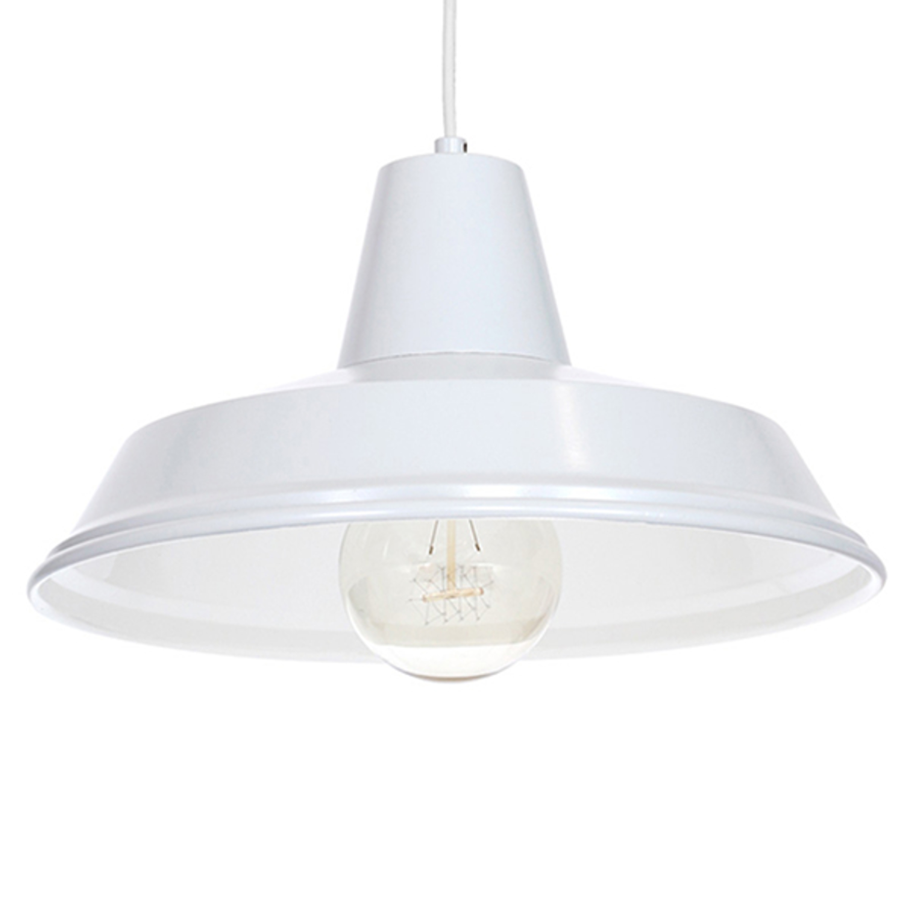 Hanglamp Class, wit/wit