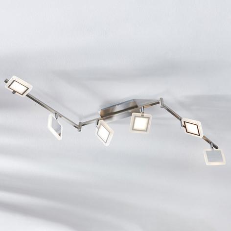 LED plafondspot Evelina, 6-lamps
