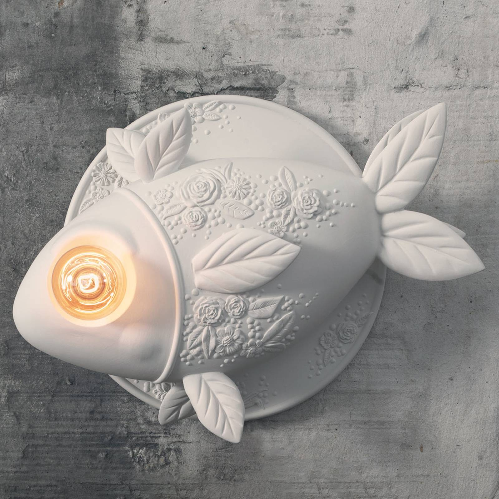 Karman Aprile - Wandleuchte in Fischform