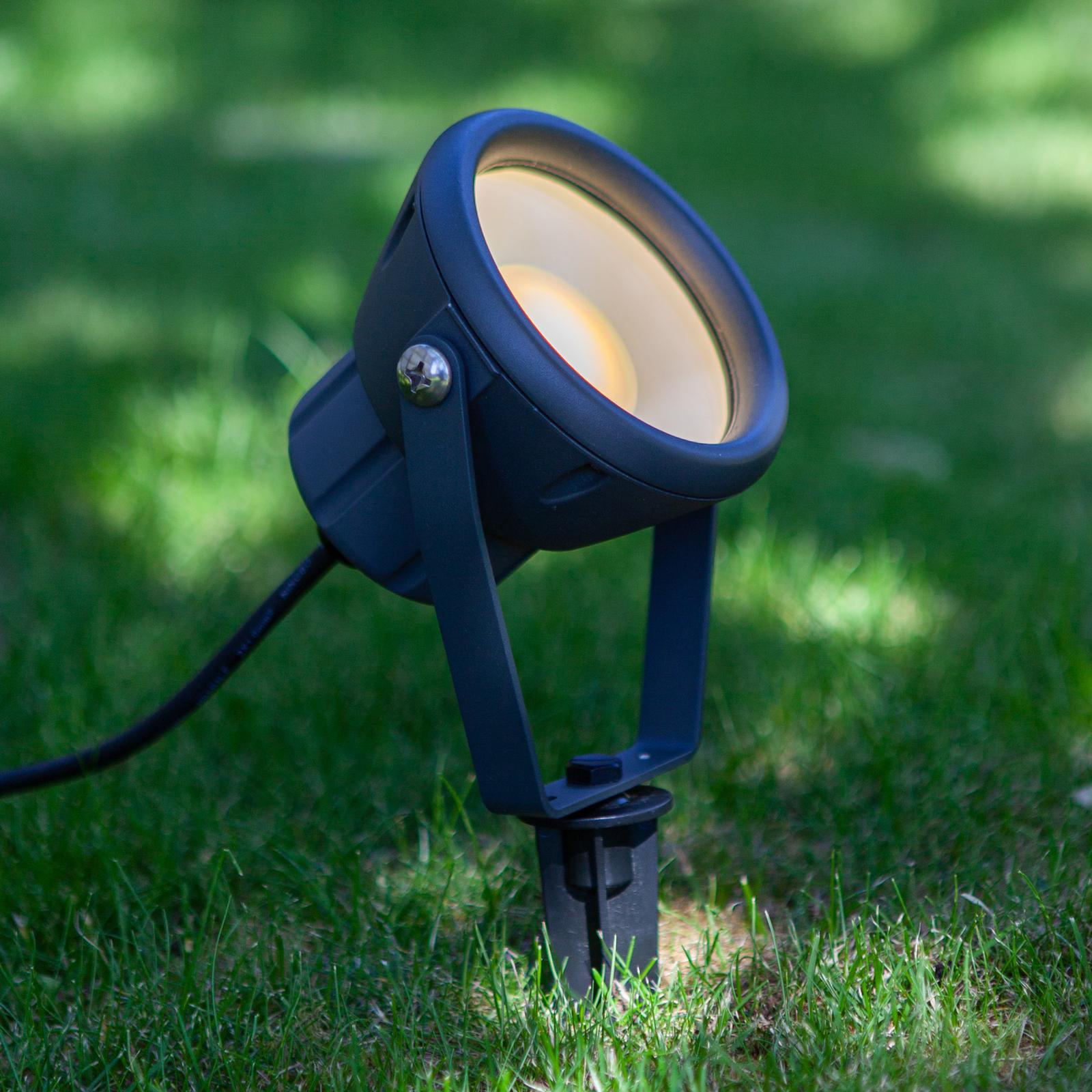 Mini Leto LED-jordspyd, RGBW smart kontrollerbar