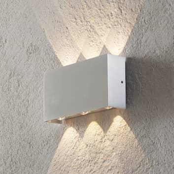 Applique LED Stream, intérieur-extérieur aluminium