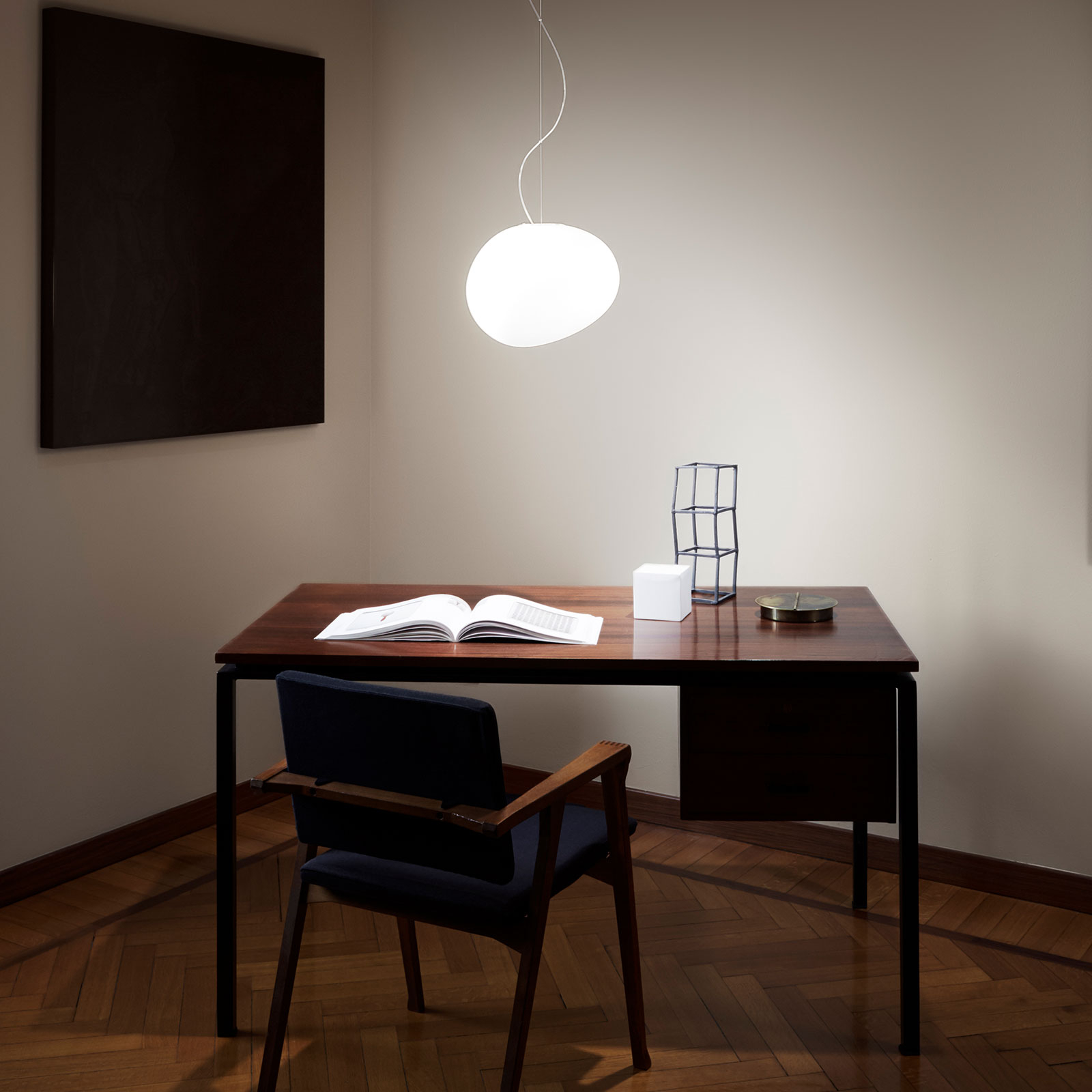 Foscarini Gregg media LED-Hängeleuchte, dimmbar
