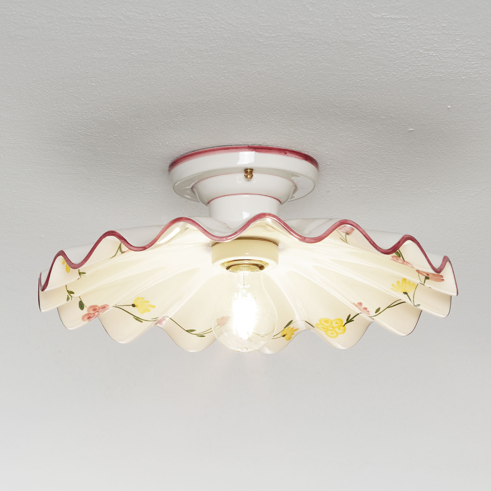 Semi-flusch ceramic ceiling light Ametista_3046030_1