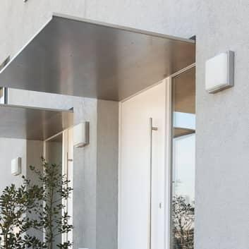 Quadro  lampe for yttervegg i rustfritt stål