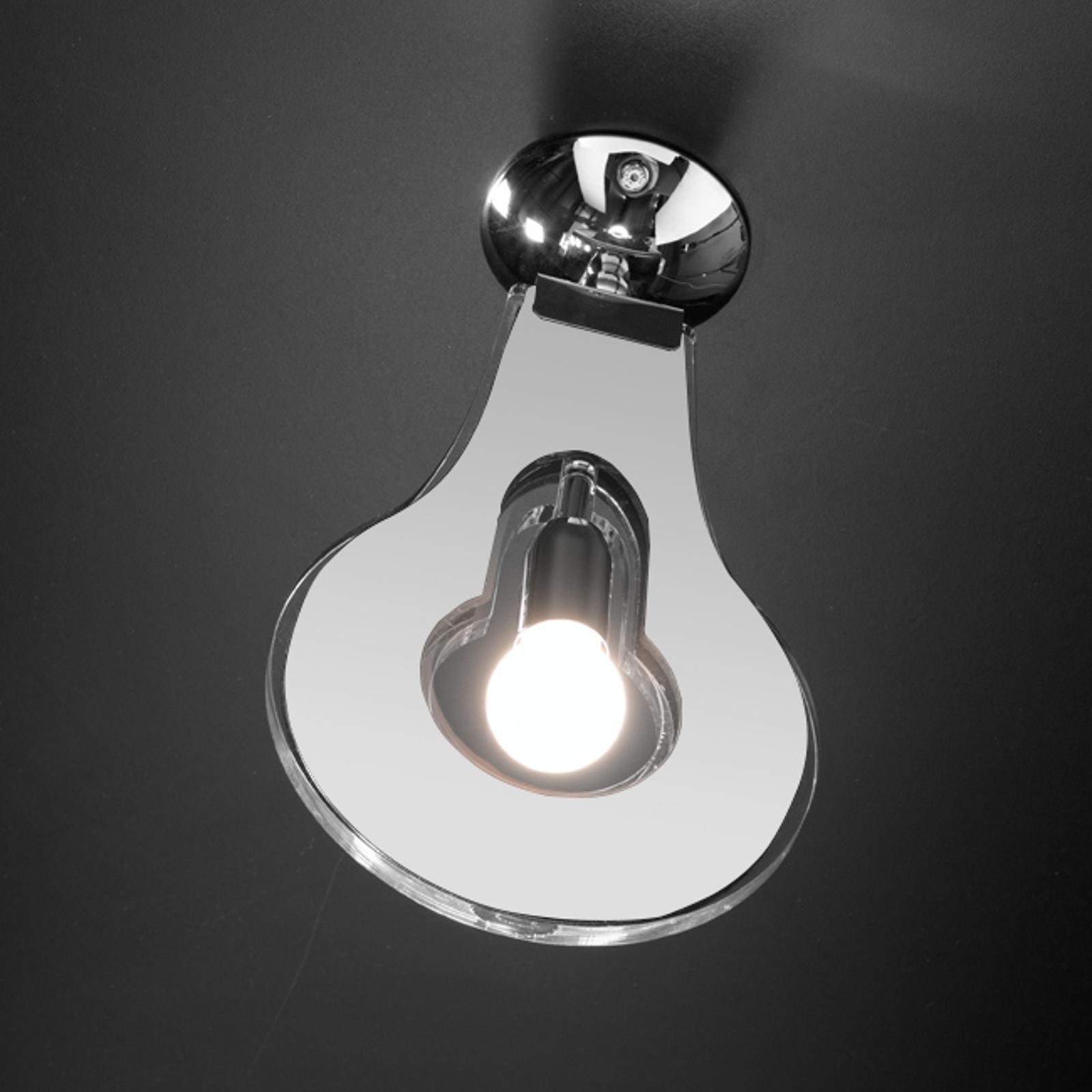 Oryginalna lampa sufitowa Flat biała