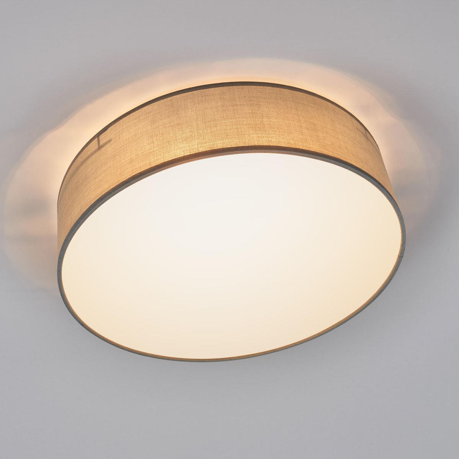 Szara lampa sufitowa CEILING DREAM, 40 cm