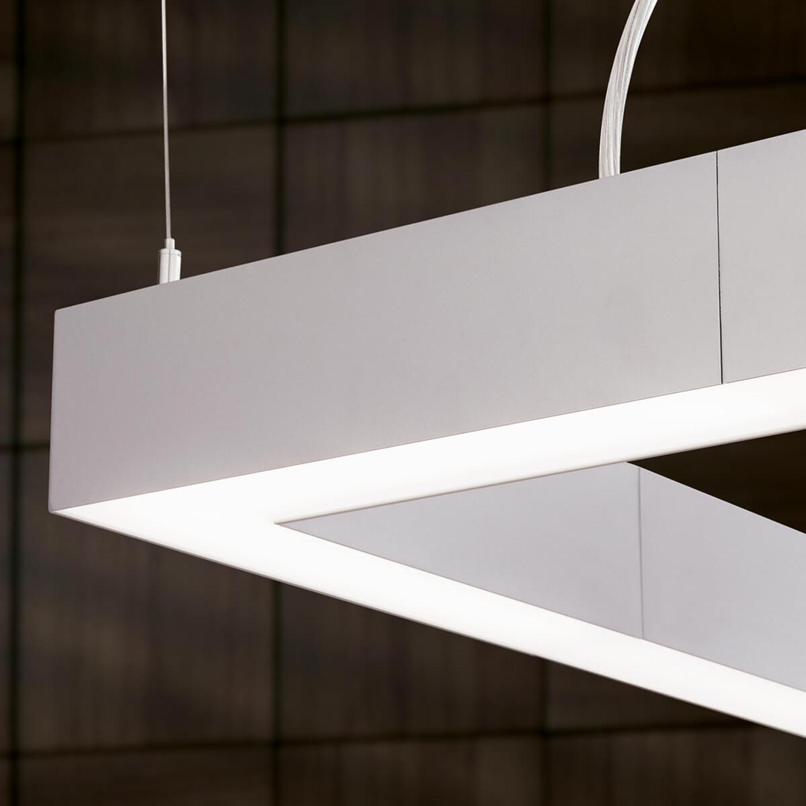 Plafonnier LED Sando, kit de fixation - 30 x 30cm
