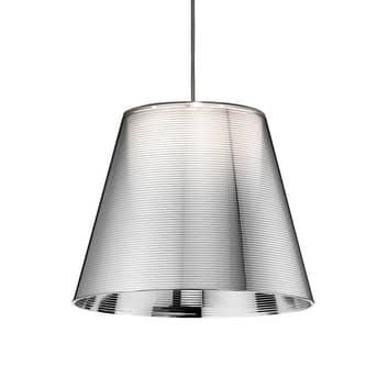 FLOS KTribe S1 závěsné světlo, stříbrné