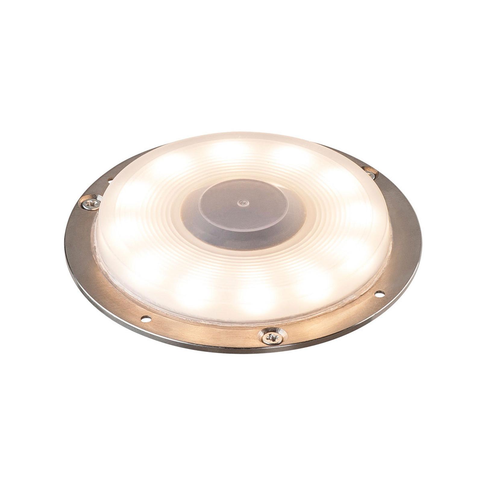 SLV Big Plot LED-Bodeneinbauleuchte Edelstahl