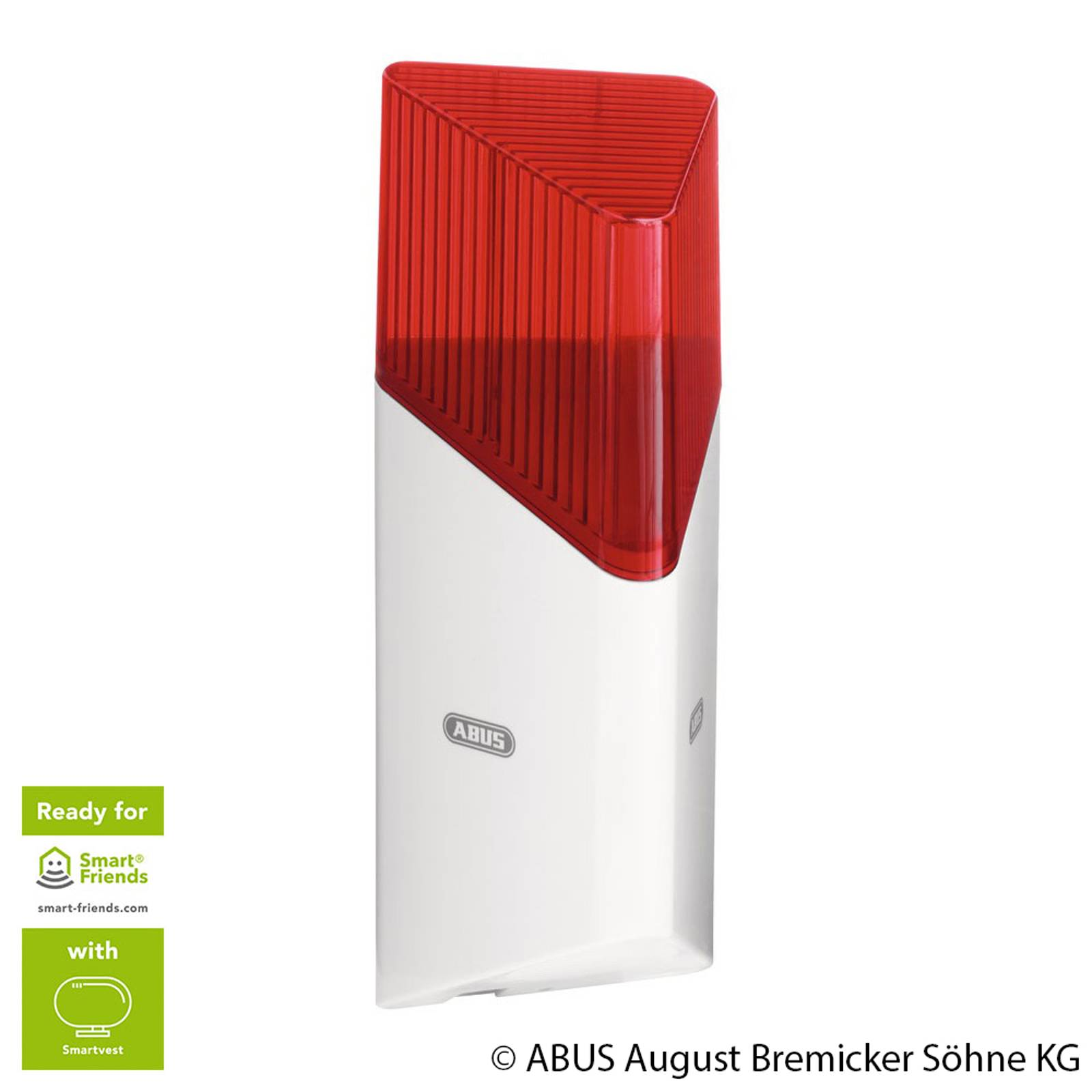 ABUS Smartvest Funk-Sirene innen und außen
