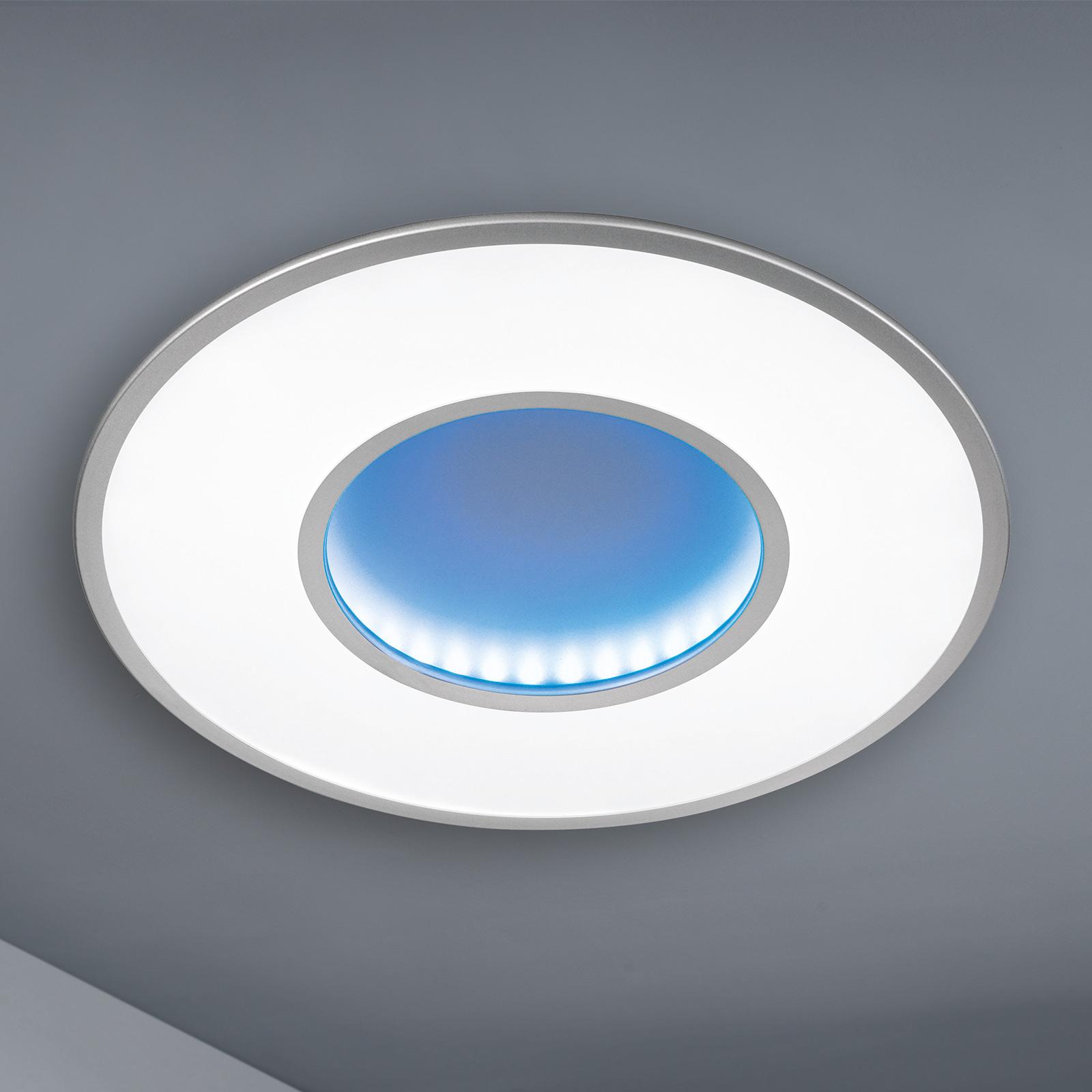 LED-taklampe Jona med fjernkontroll
