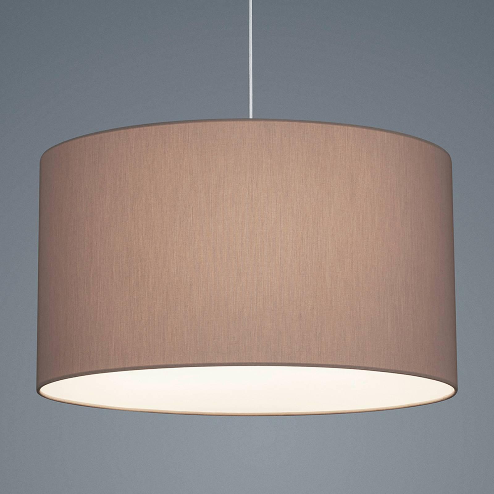 Helestra Certo hanglamp cilinder 1-lamp mocca