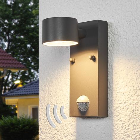 Sensor-Außenwandleuchte Lexi mit LEDs
