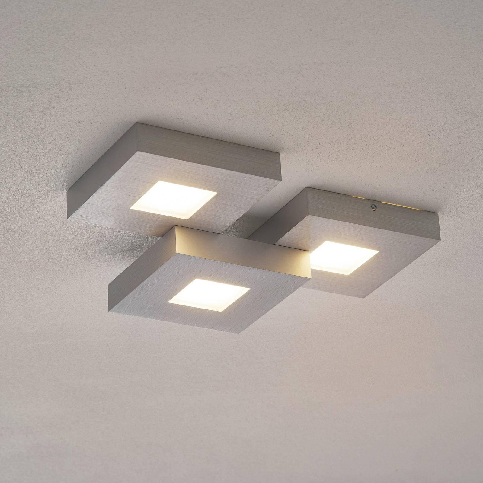 Cubus - 3-lamps LED-plafondlamp