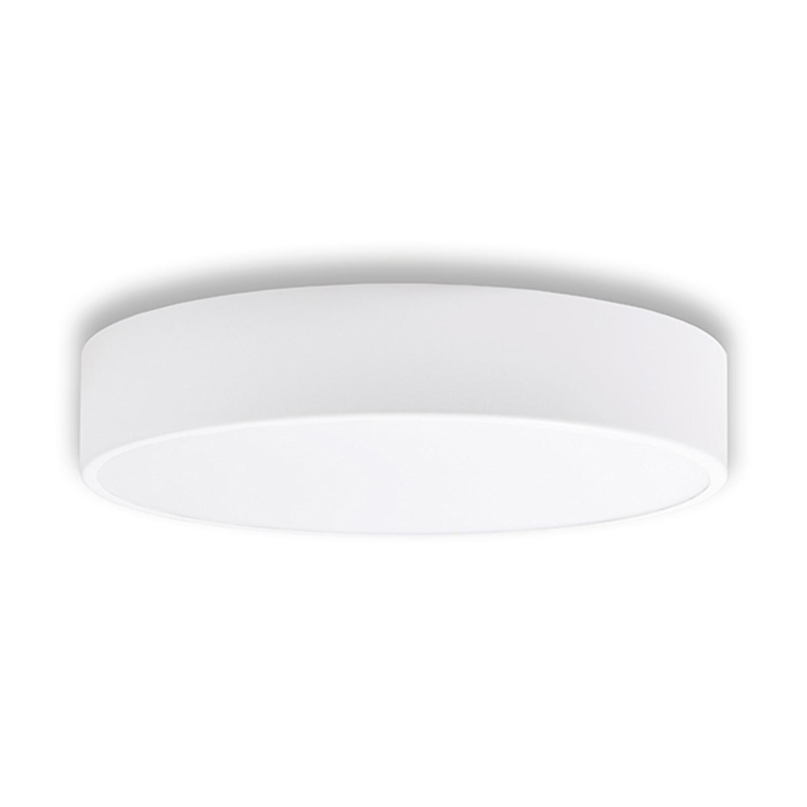 Stropní světlo Cleo, Ø 40 cm, bílá