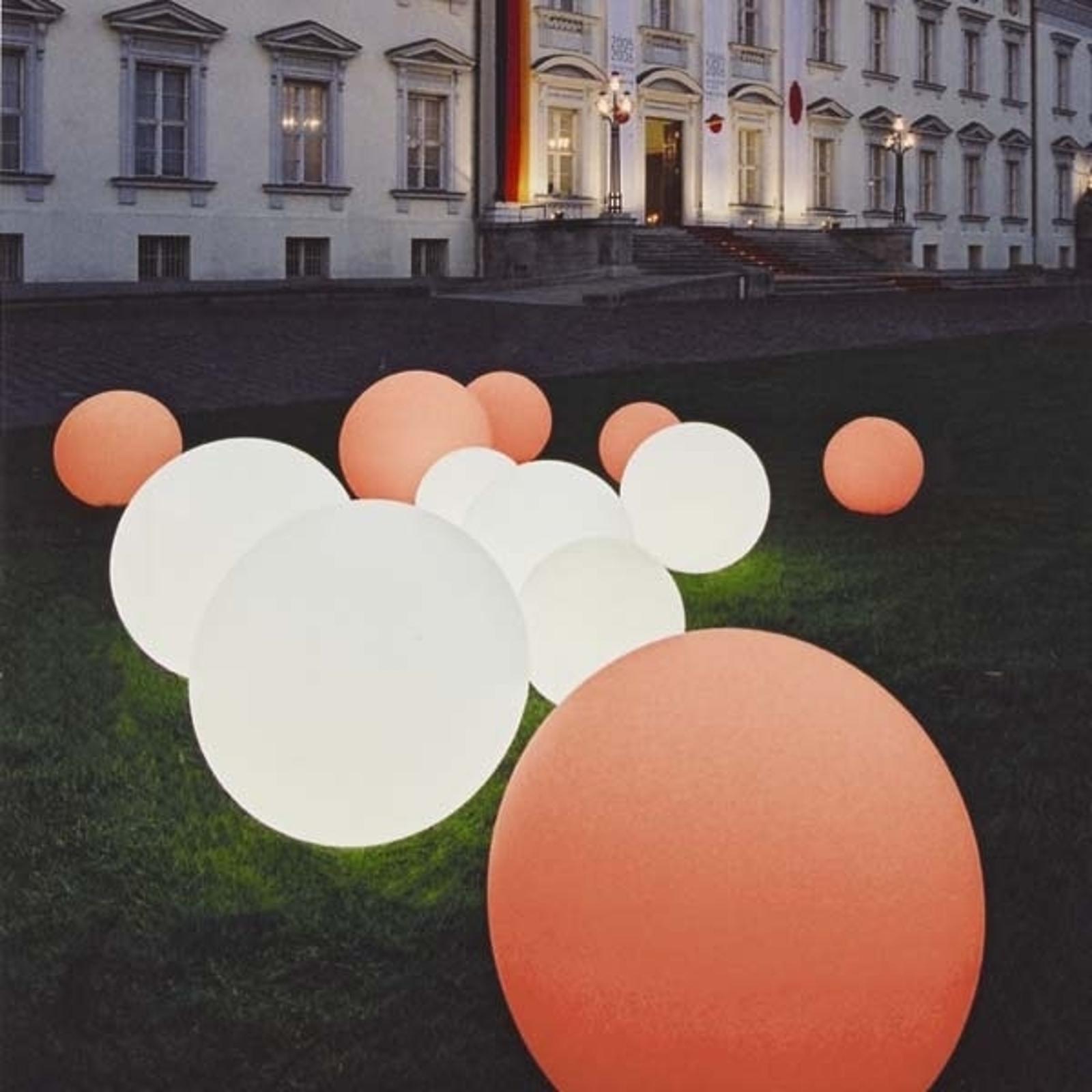 Vysoce kvalitní kulové světlo Snowball bílé 30 cm