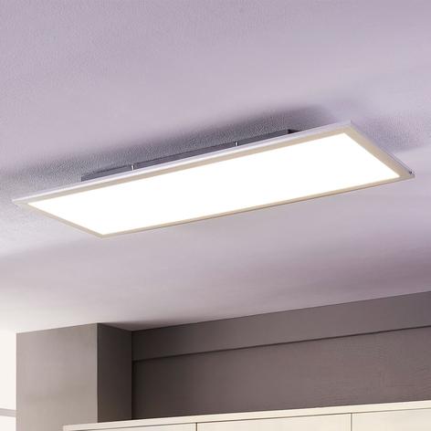 Lindby Livel panneau LED, 4000K, 80cm x 30cm