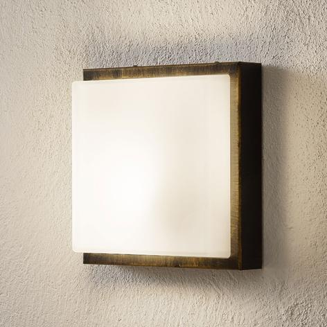 Wandlampe Ernest E27 Bewegungsmelder schwarz-gold