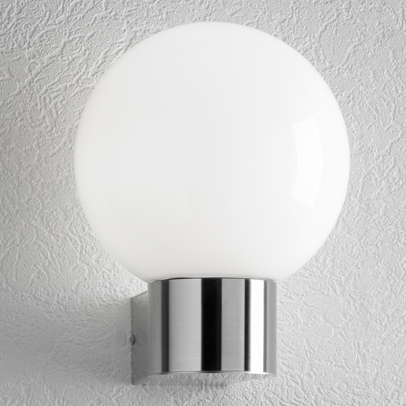 Rvs buitenwandlamp KEKOA, zonder sensor