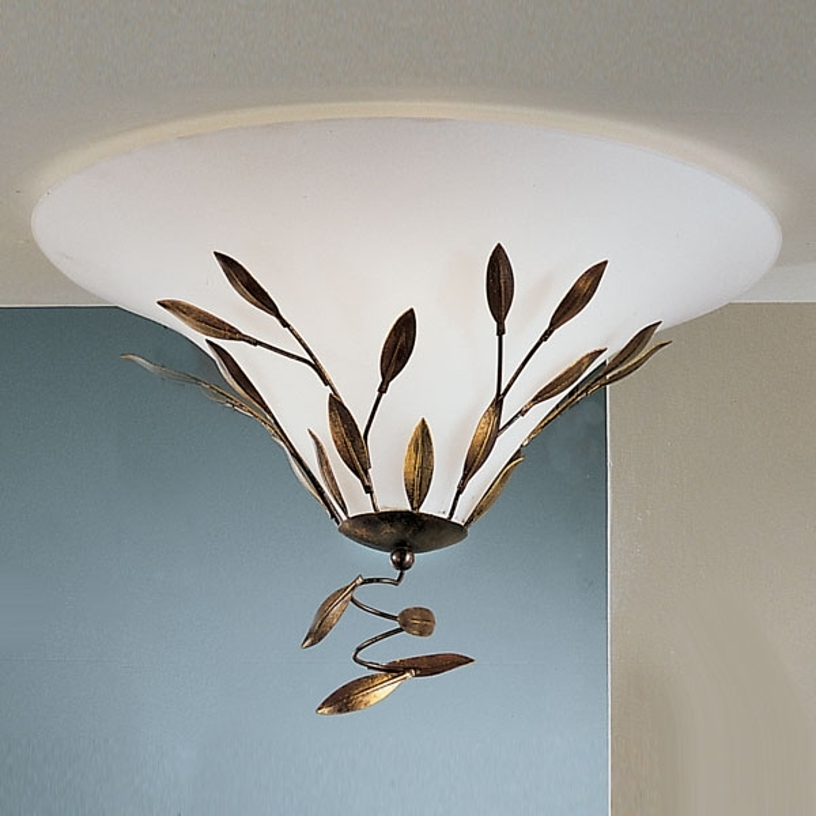 Plafonnier CAMPANA, 2 ampoules, 47 cm
