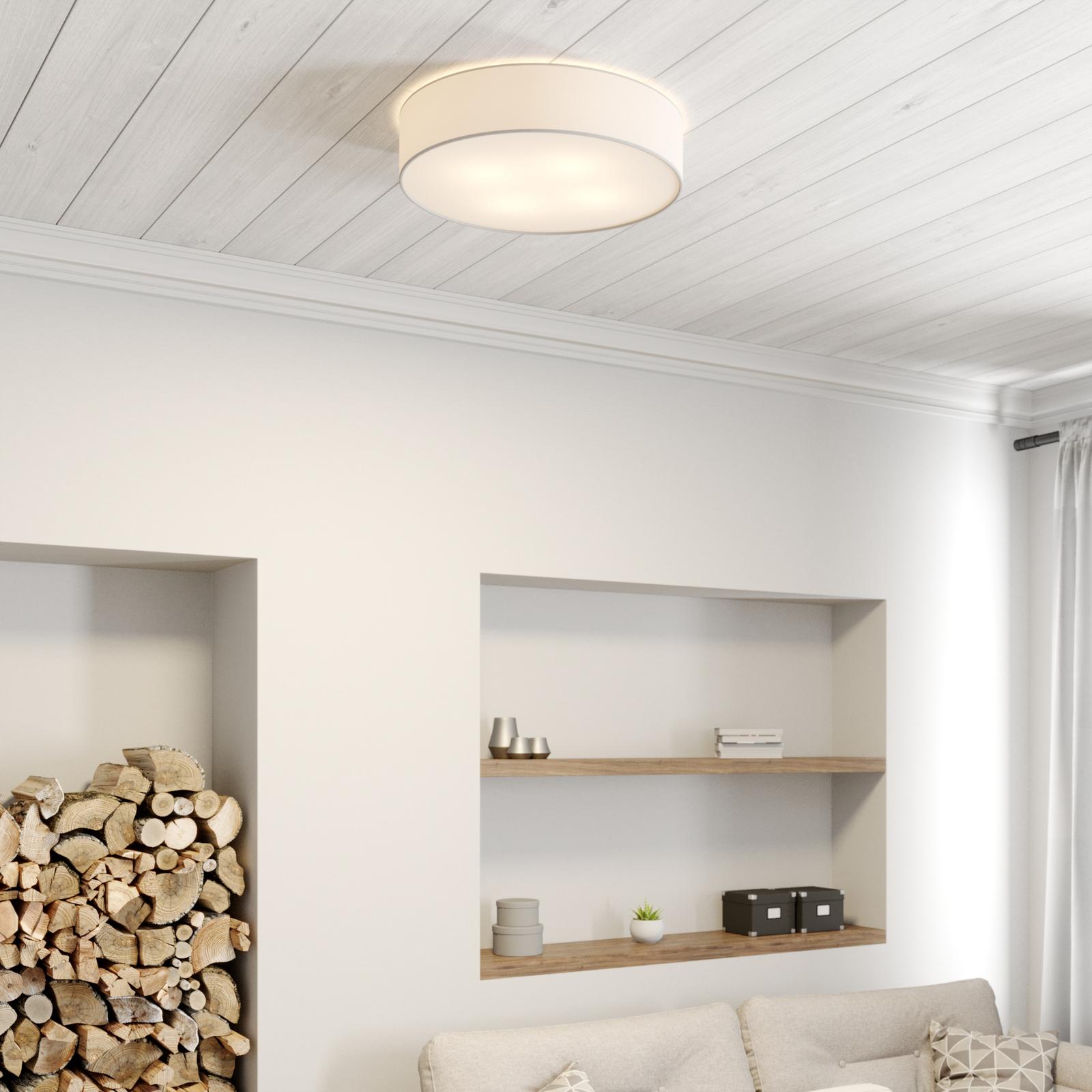 Deckenleuchte Cassy mit Blende, weiß, Ø 58 cm