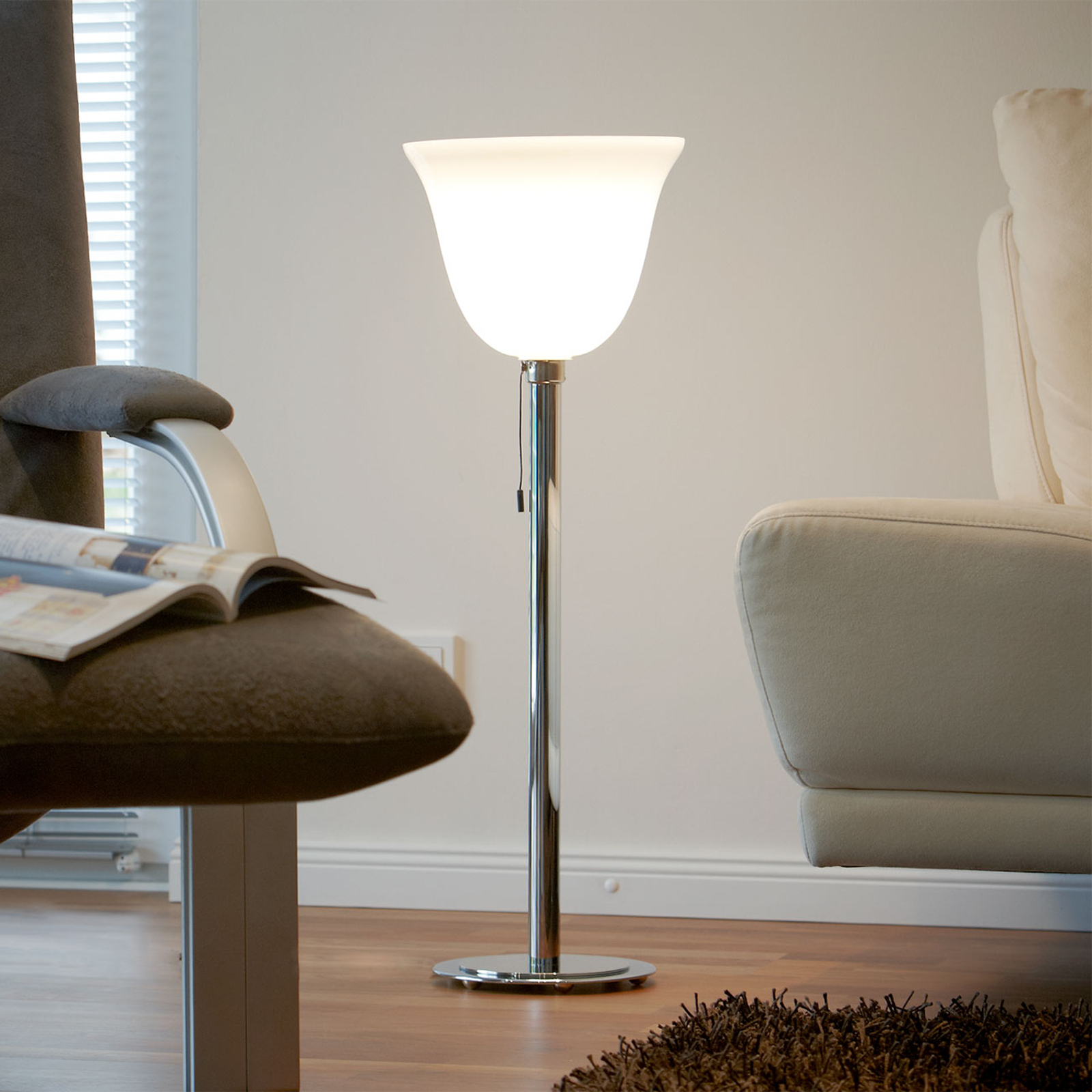 Lampa stojąca Art Deco wg francuskiego wzoru