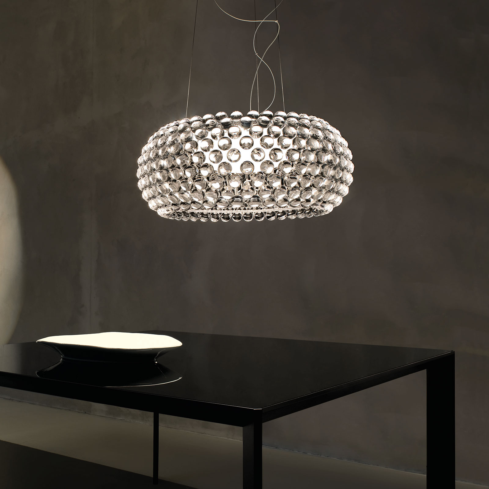 Foscarini MyLight Caboche media, transparente