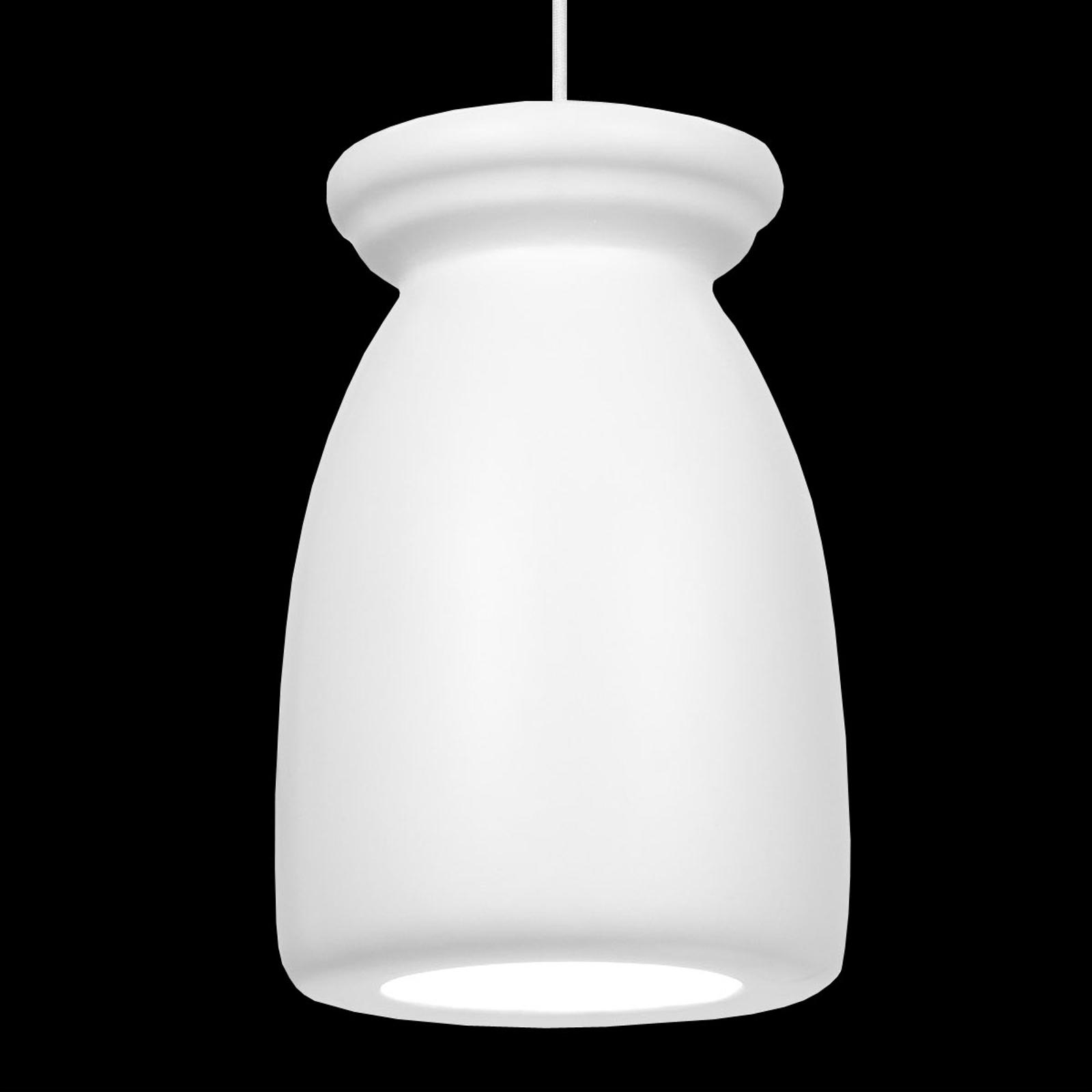 Klenutá závesná lampa Biscuit, dizajnérska kvalita_1022018_1