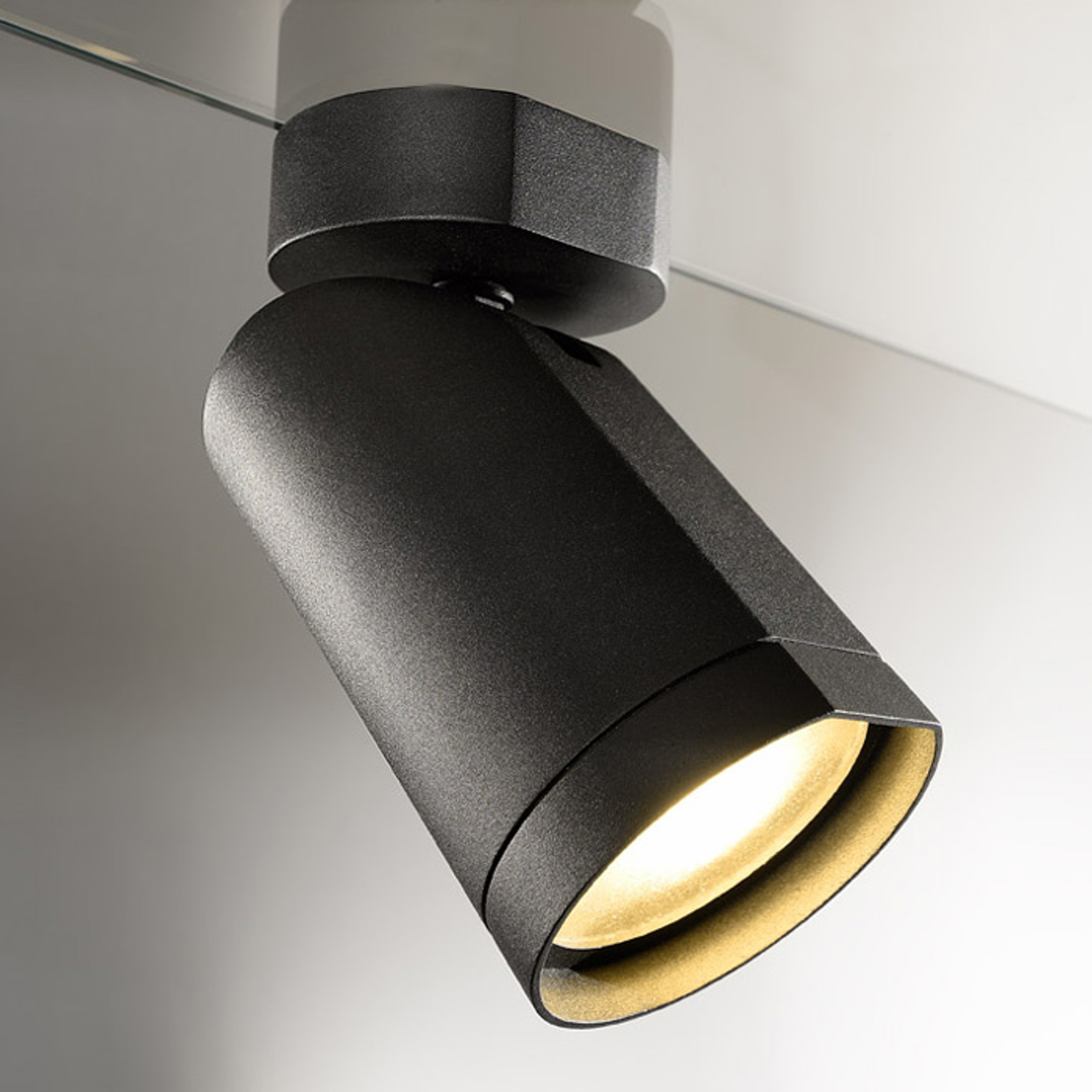 Acquista Lamp. design da soffitto a LED Bilas, 1 luce, nera