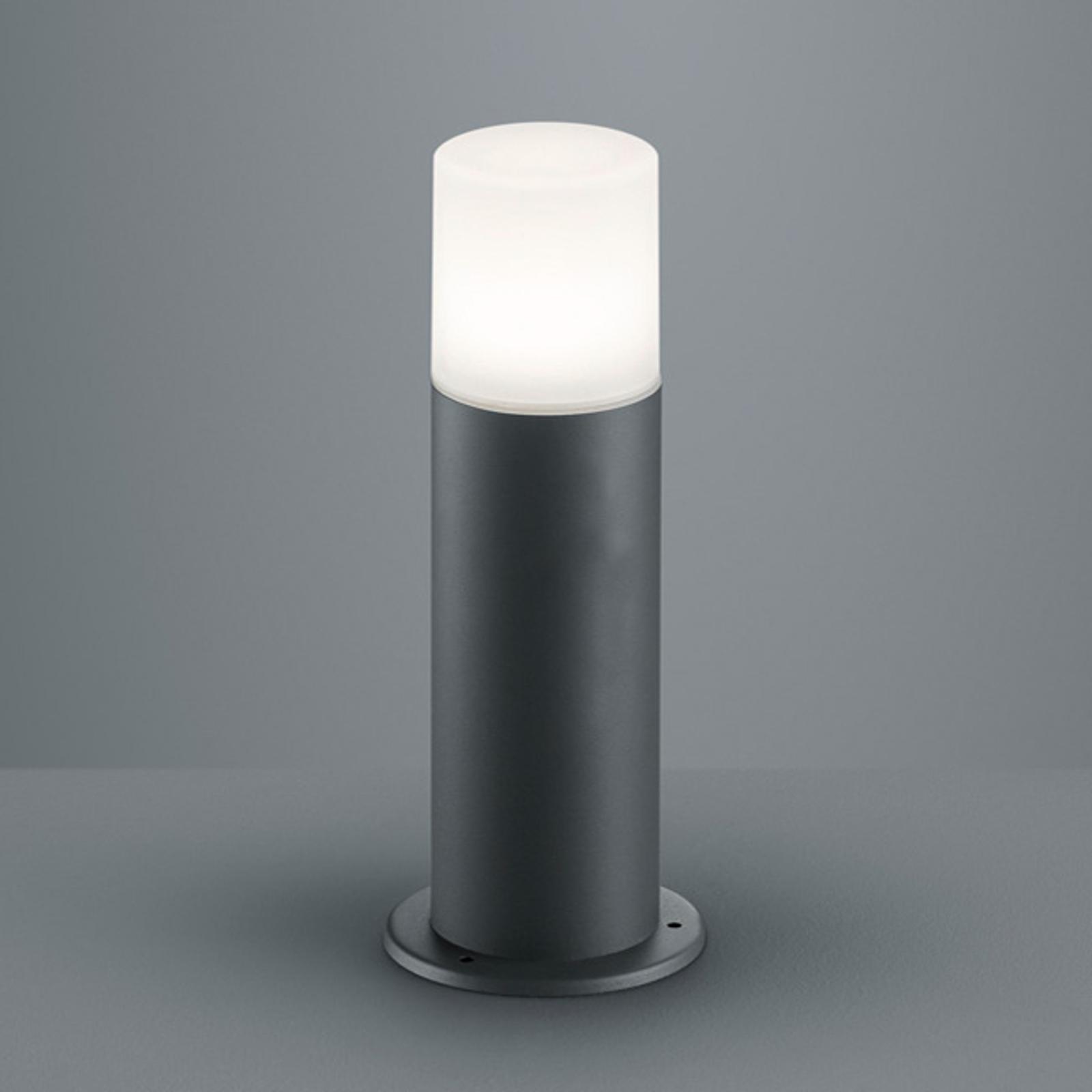 Lampa cokołowa Hoosic z aluminium, antracyt