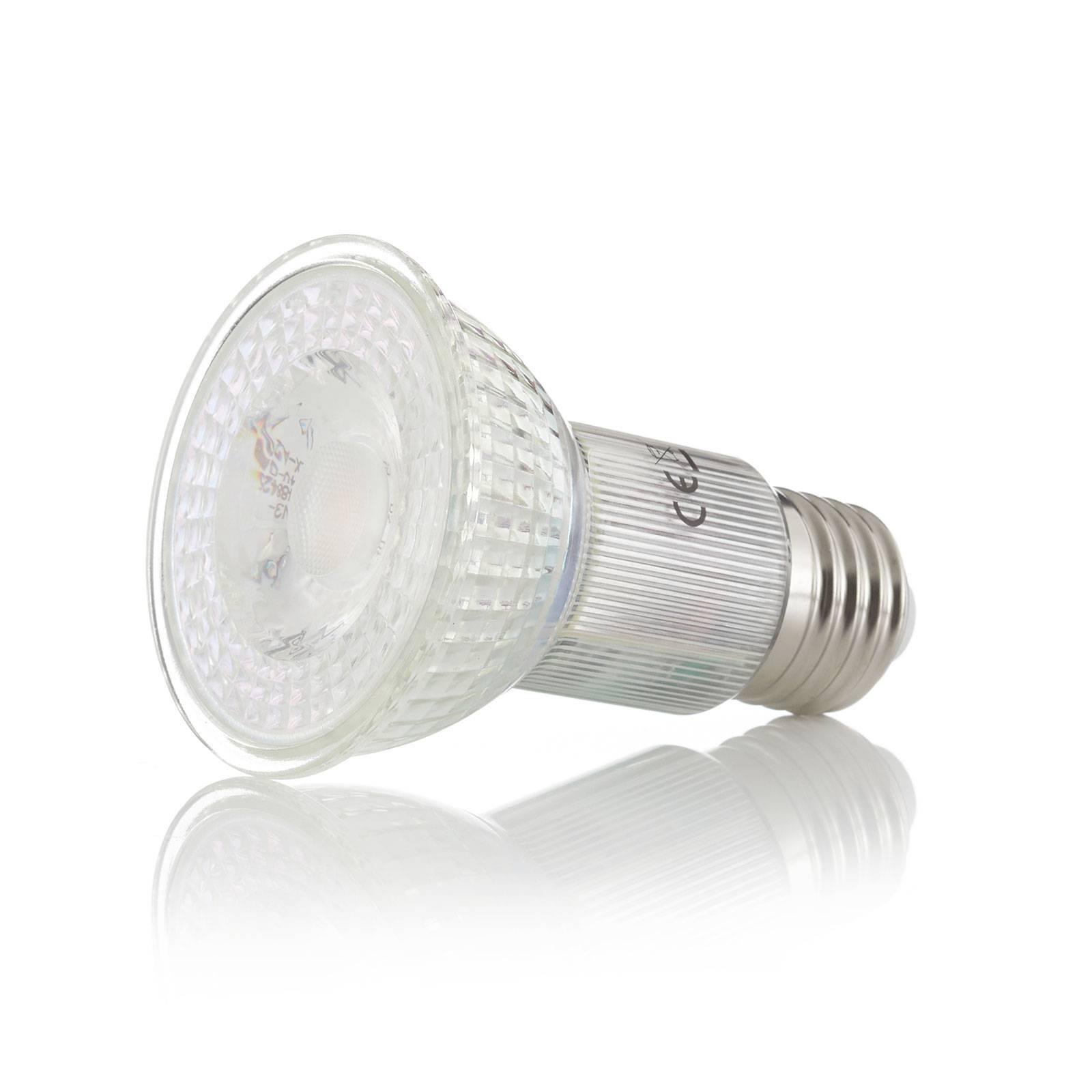 Lampa sufitowa LED Bizzo, szkło przezroczyste
