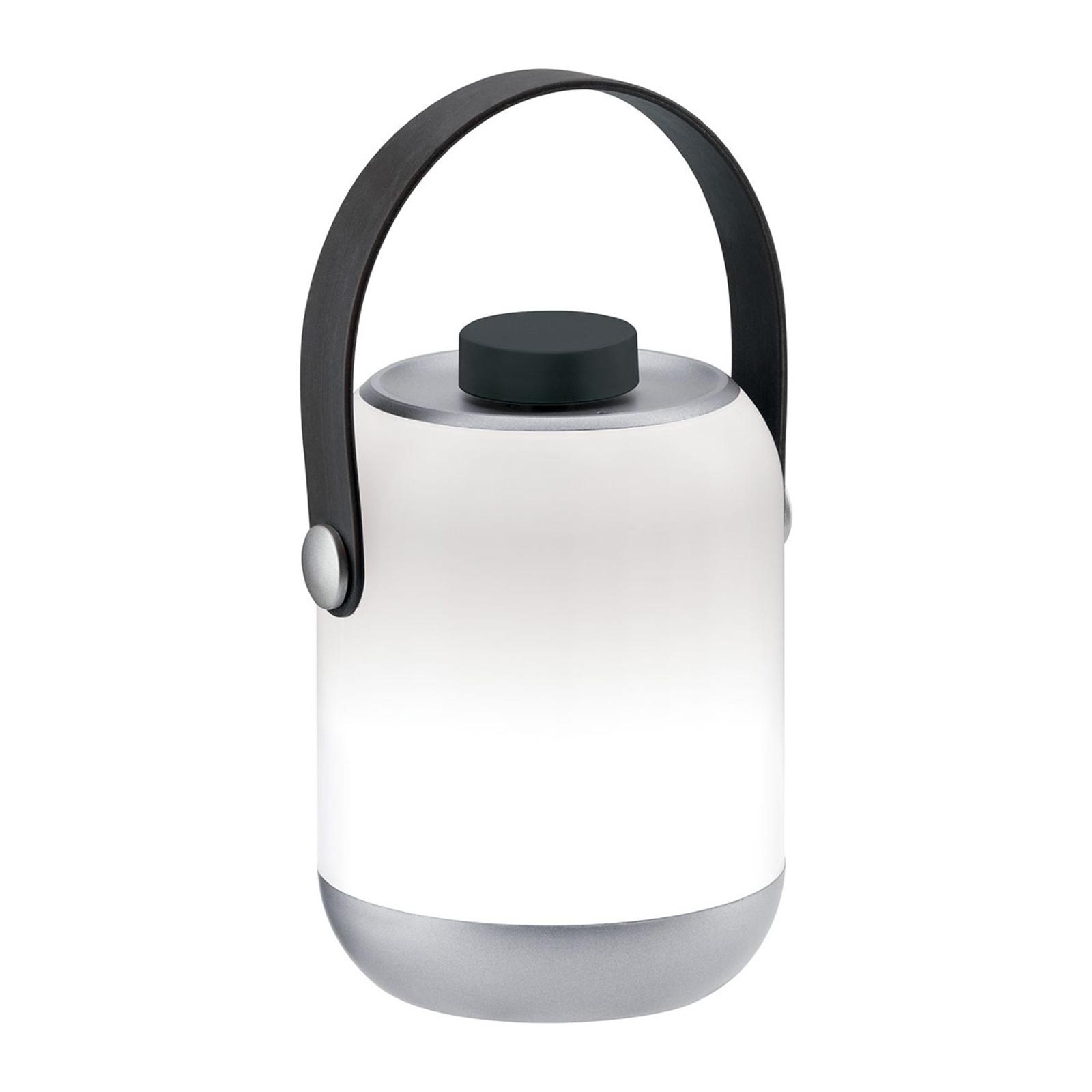 Paulmann mobil bordlampe Clutch, krom