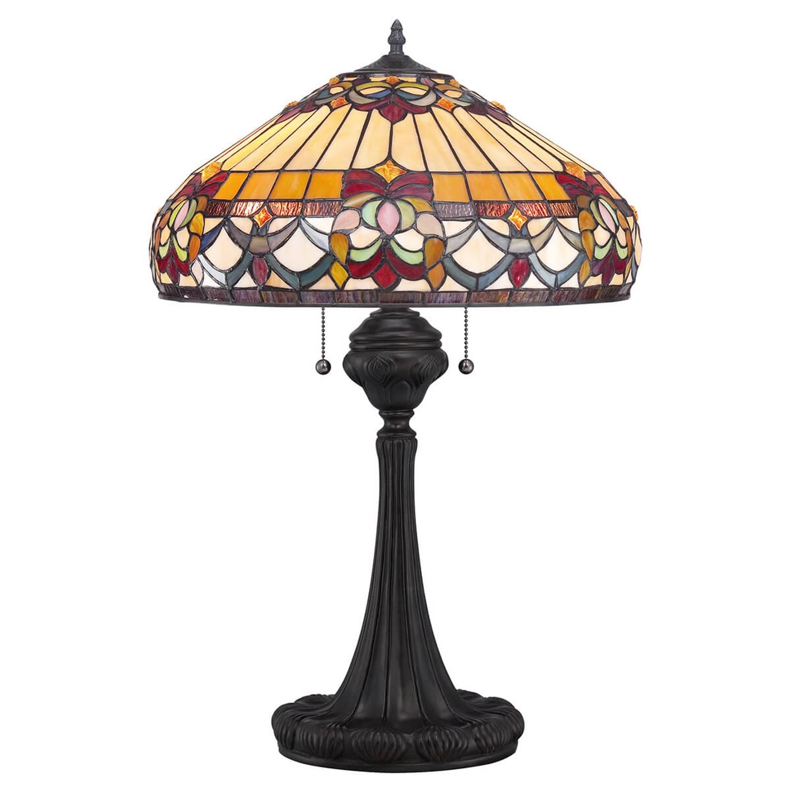 Tafellamp Belle Fleur in Tiffany-design