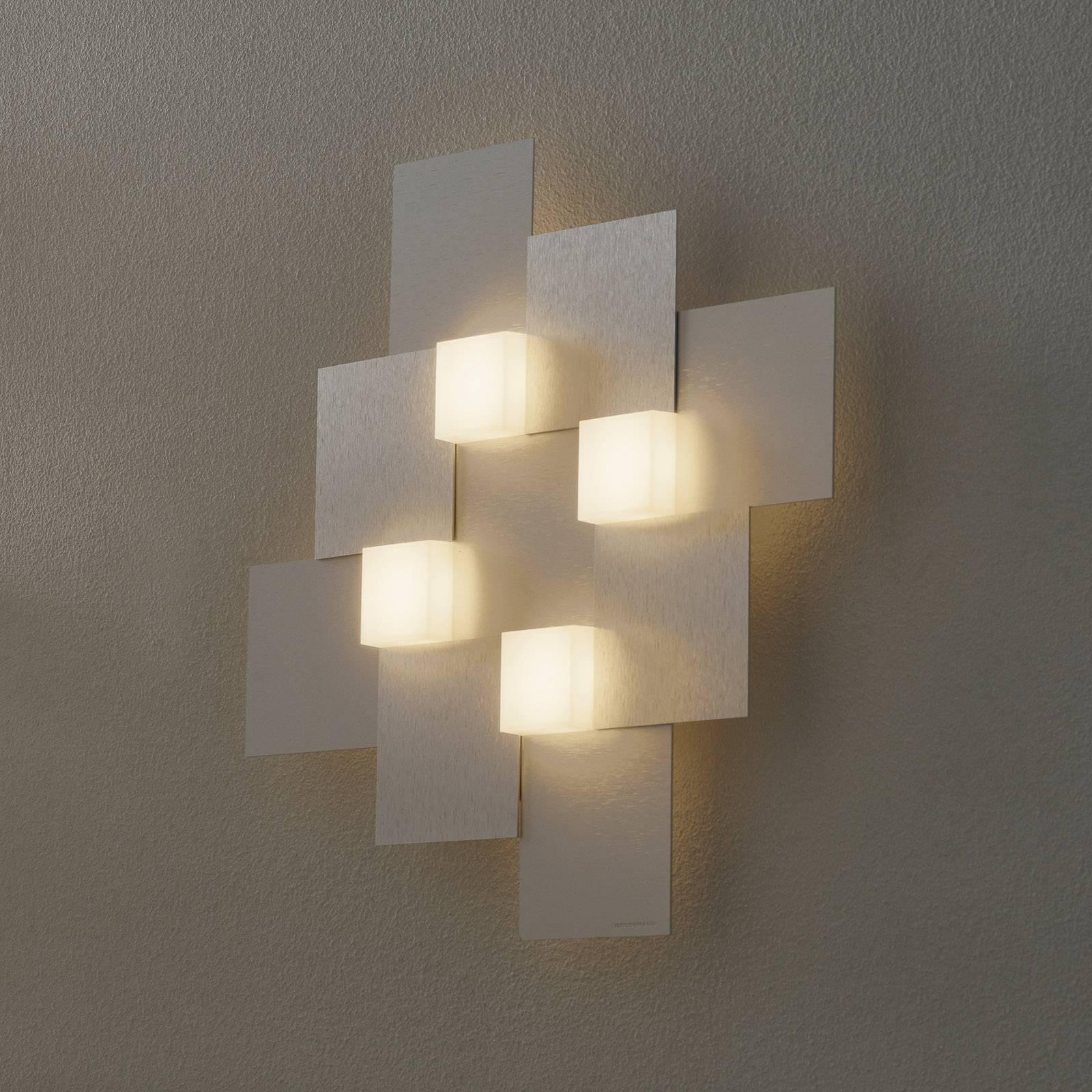 GROSSMANN Creo applique 4 lampes 44x44cm aluminium